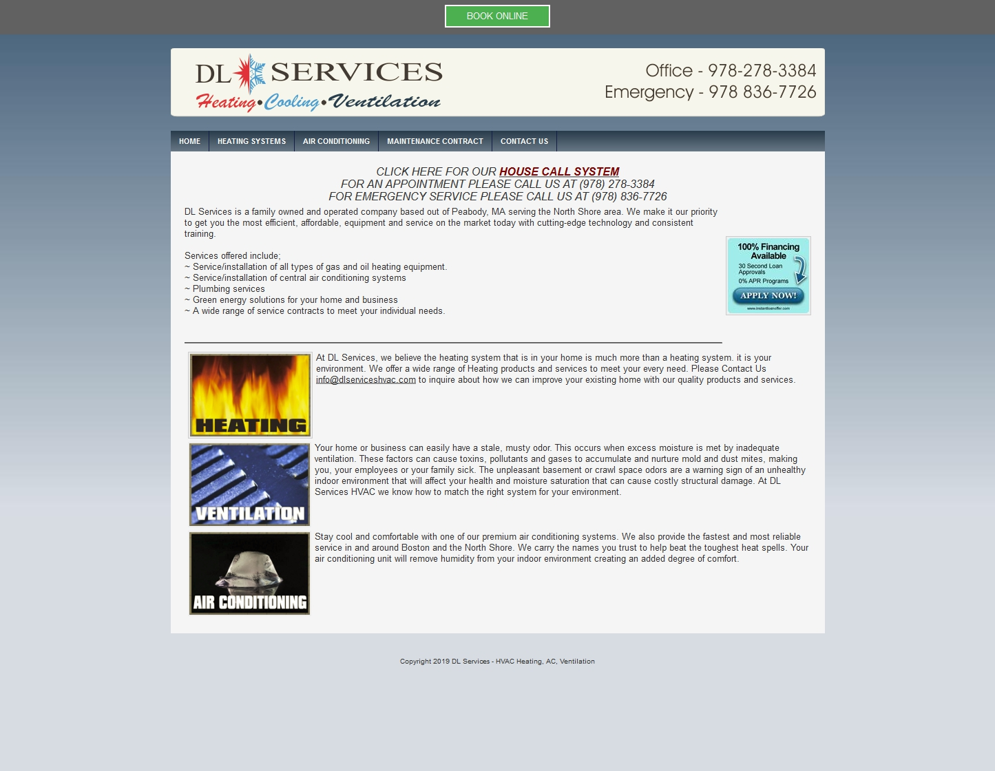 DL SERVICES HVAC
